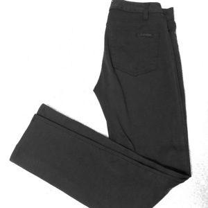Calvin Klein black stretch skinny pants